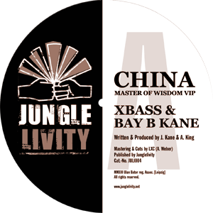 label of Junglelivity 004 A site
