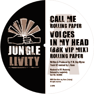 label of Junglelivity 008 A site