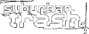 Logo Suburban Trash Industries Vinyl Distribution