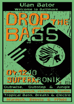 Drop The Bass, Flyer